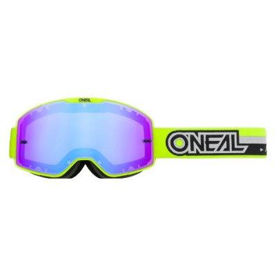 Goggle Oneal B-20 PROXY yellow/black-radium blue