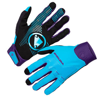 Endura rukavice MT500 D3O Blue M