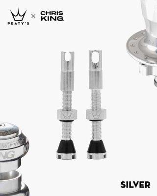 Peaty's Tubeless ventil MK2 42mm Silver
