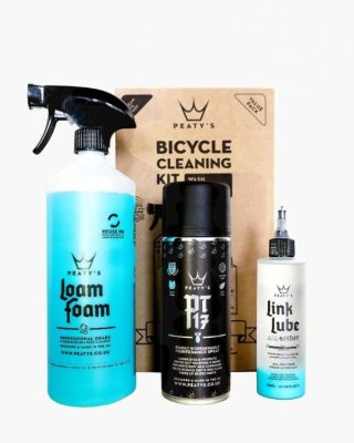 Peaty's Wash Cleaning Lubricate set