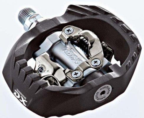 Pedale Shimano SPD PDM647 Sh.