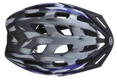 Kaciga XC with visor 54-58cm PLAVA M.