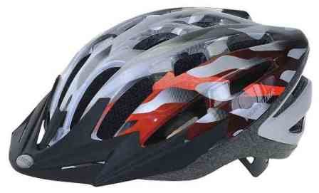 Kaciga XC with visor 54-58cm SREBRNA
