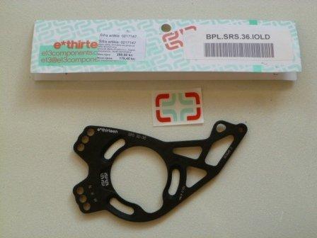 E13 ploča alu gornja za SRS.36.IOLD crna