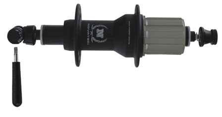 Naba II Novatec indu-ležaj crna 32h M.324816