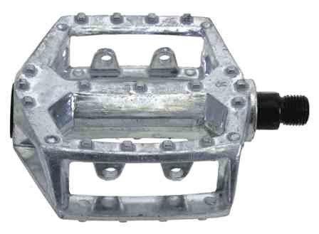 """Pedale 1/2"""" BMX srebrne 311330"""