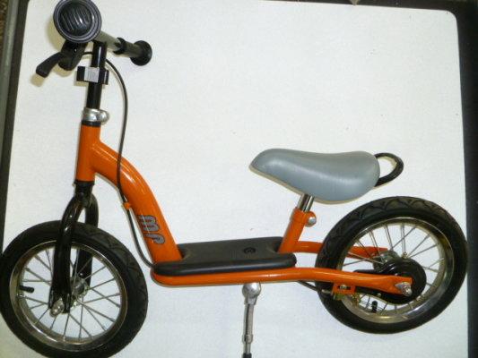 Bicikl guralica BABY WALKER naranđasta