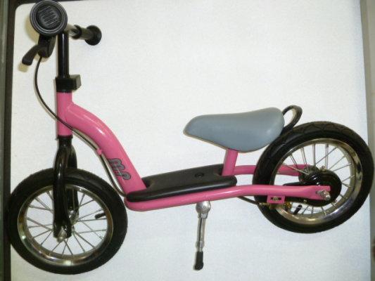 Bicikl guralica BABY WALKER roza