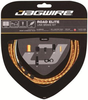 Jagwire kočnica set LINK-road zlatni RCK502