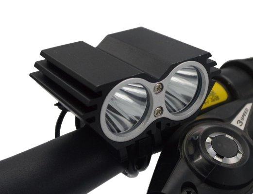 Svjetlo aku LED EBL-302A 2xlampa