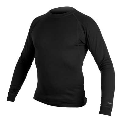 Endura majca Merino L/S Black M