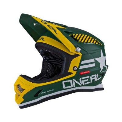 Kaciga Oneal Fury Evo AFTERBURNER green L (59-60cm)