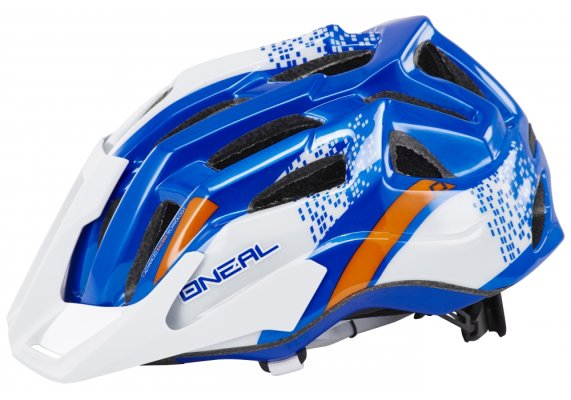 Kaciga Oneal Q-helmet white/blue L/XL