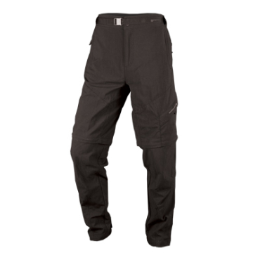 Endura hlače Hummvee zip-off BK XL