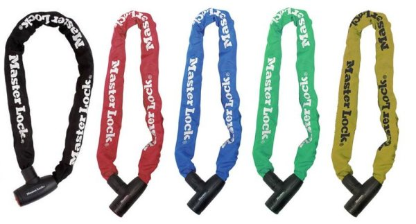 Lokot Master Lock lanac/lokot 900x8/40mm boja