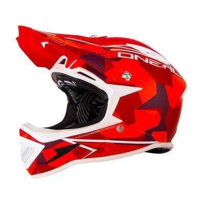 Kaciga Oneal Warp Edgy Camo red L (59-60cm)