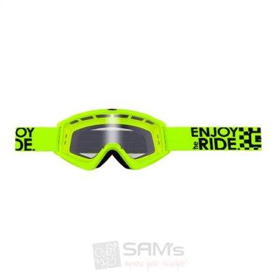 Goggle Oneal B-Zero neon-yellow