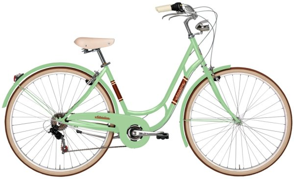 "Adriatica bicikl Danish 6-br lady 28"" green"
