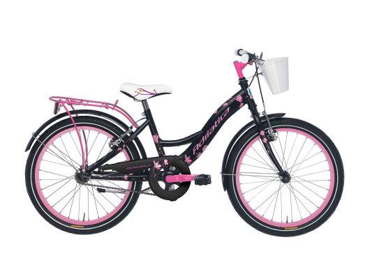 """Adriatica dječiji bicikl ženski 20"""" crno/rozi"""