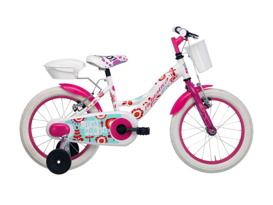 """Adriatica dječiji bicikl ženski 16"""" bijeli"""