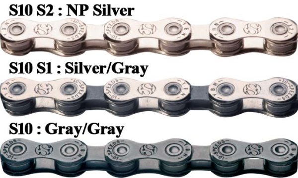 Lanac 10-brzina YBN IB-S10-S2 NP-Silver