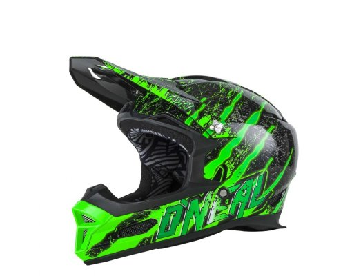 Kaciga Oneal Fury RL Mercury black/green XL (61-62cm)