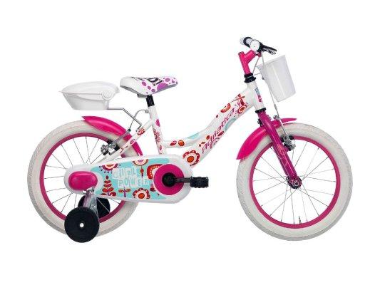 """Adriatica dječiji bicikl ženski 12"""" bijeli"""