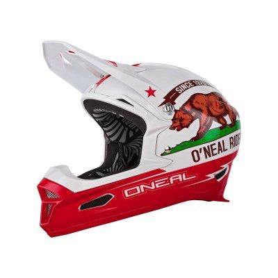 Kaciga O'Neal California white/red XL(61-62)