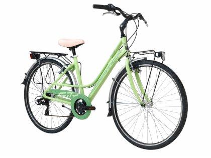 Adriatica bicikl City 3 ženski 45cm zeleni