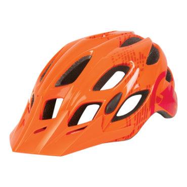 Endura kaciga Hummvee Gloss Orange M-L