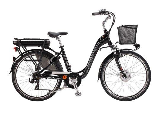 Adriatica Elektrobicikl E-bike E1 Lady CRNI