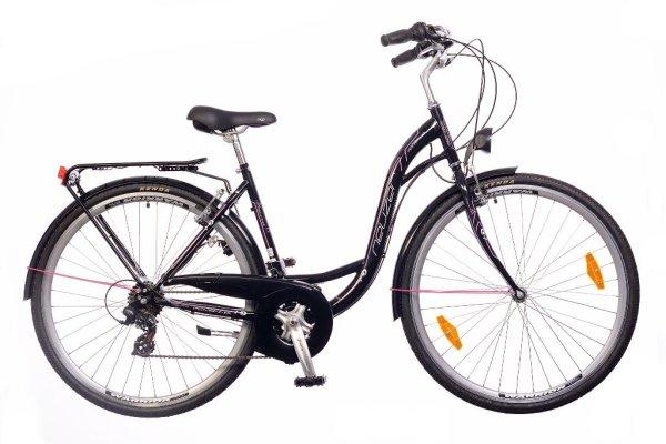 """Neuzer bicikl Ravenna 6 28"""" 19"""" ženski Crni"""