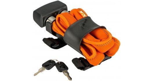 Lokot AXA Folding Lanac 600 Orange