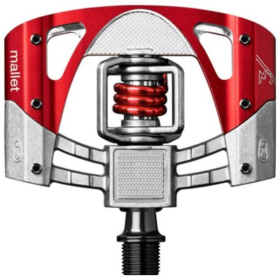 Pedale Crank Brothers Mallet 3 Raw/Red