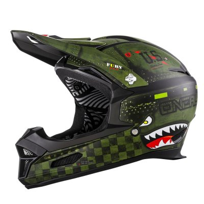 Kaciga Oneal Fury RL Warhawk black/green L (59/60cm)