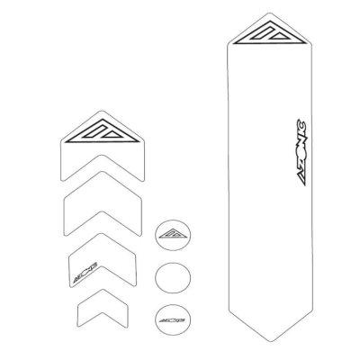 Zaštita rame AZONIC prozirna L