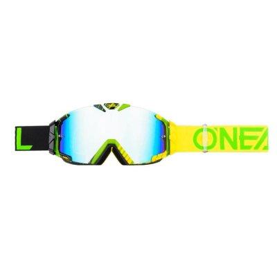 Goggle O'Neal B-30 Duplex black/hi-viz/green-radium