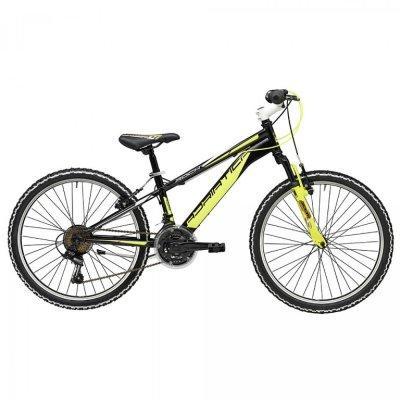 """Adriatica dječiji bicikl ROCK 24"""" crno/žuti"""