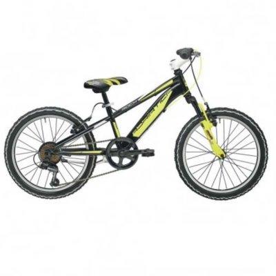 """Adriatica dječiji bicikl ROCK 20"""" crno/žuti"""