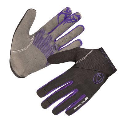 Endura rukavice Wms Singletrack Lite Purple XS