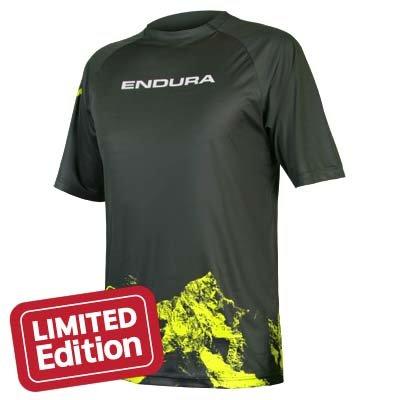 Endura Dres STrack Print T Mountains XL